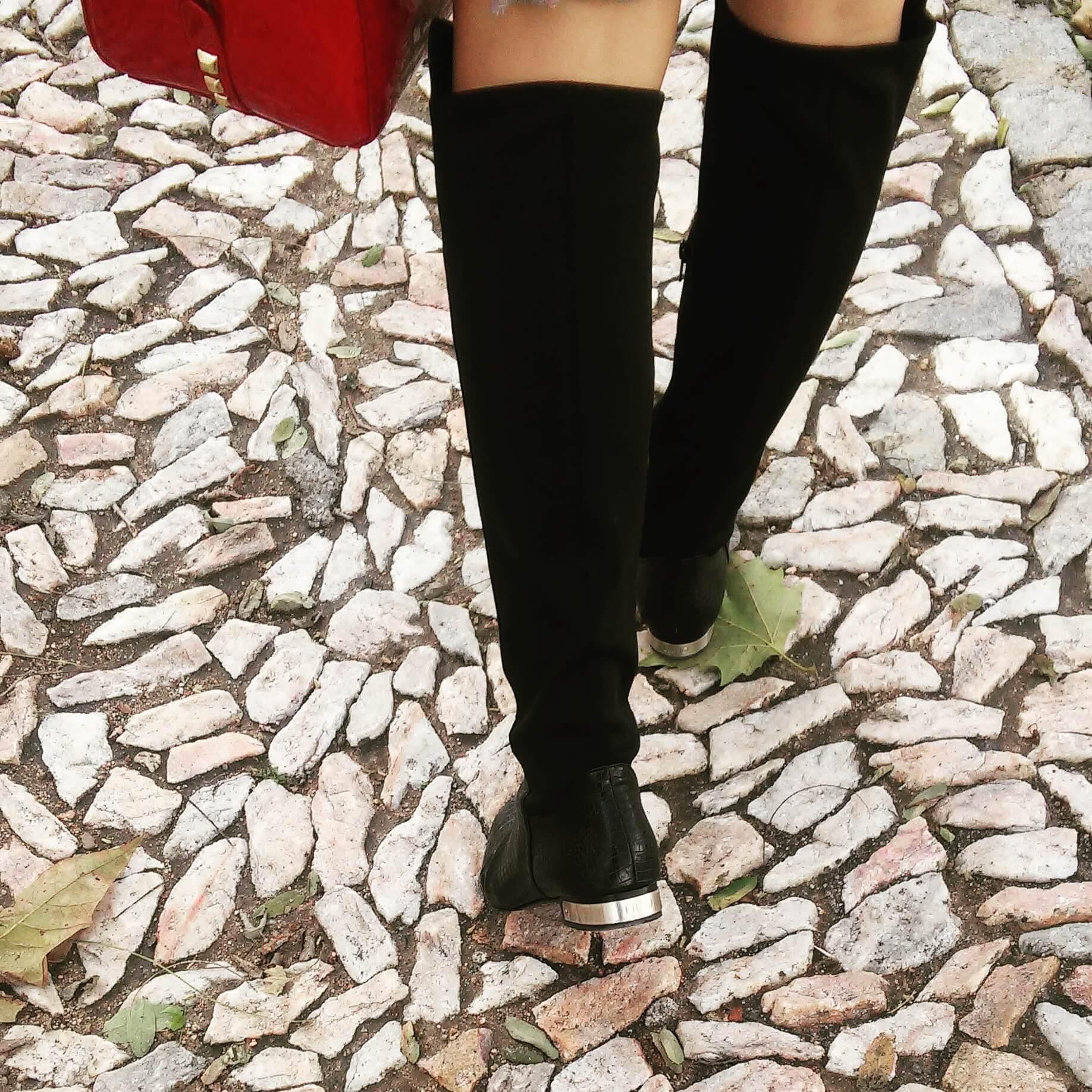 Caminando por las calles empedradas de Elvas