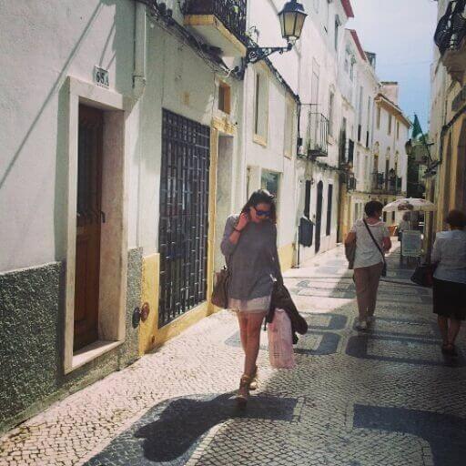 Caminando por Elvas