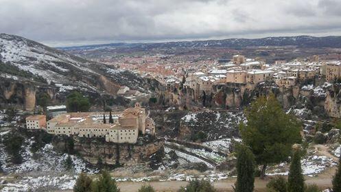 Panorámica de Cuenca desde el Castillo