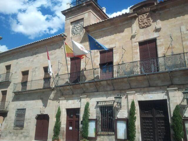 Almagro, Ciudad Real fachada