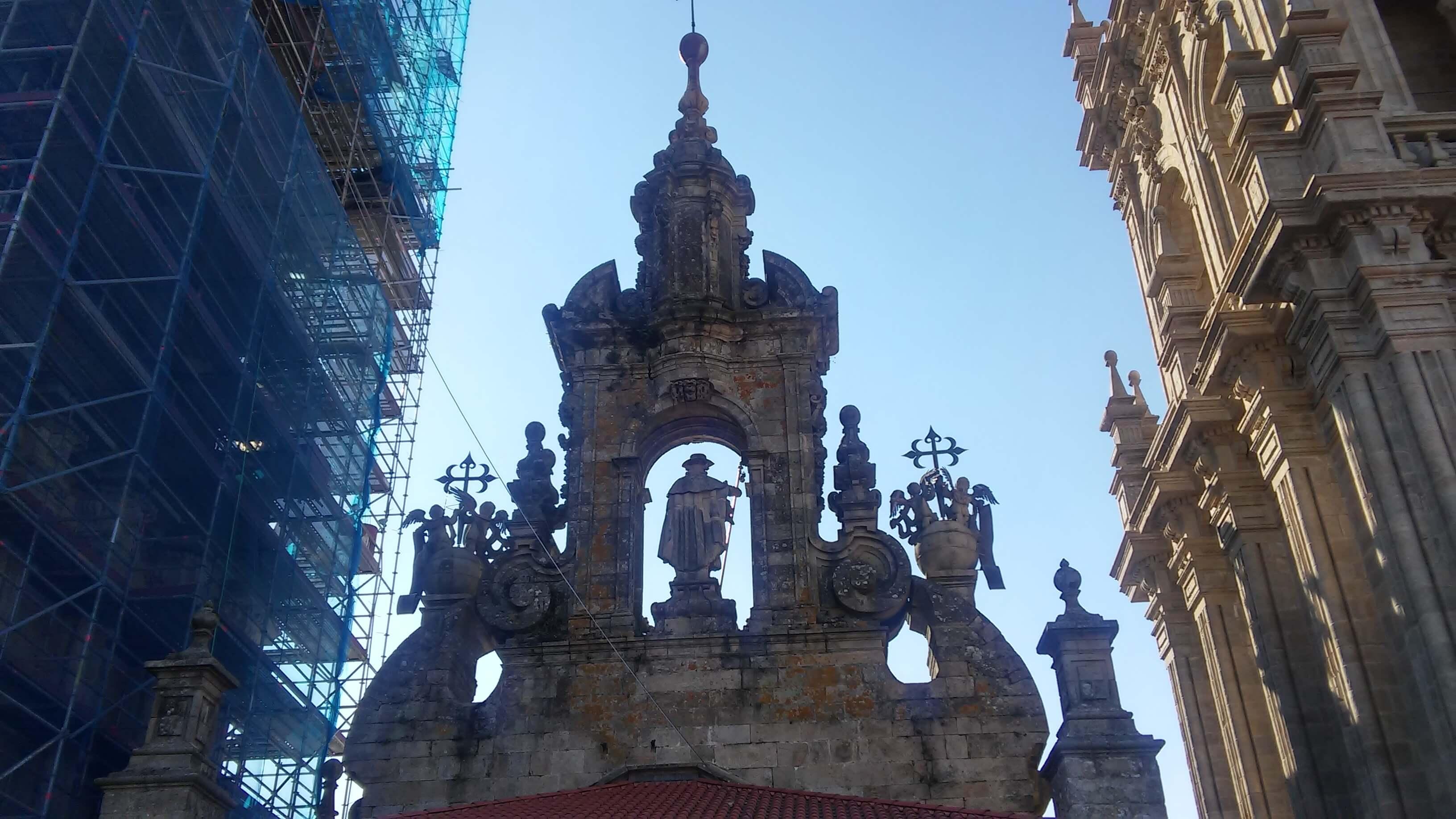 Apóstol Santiago desde Cubiertas