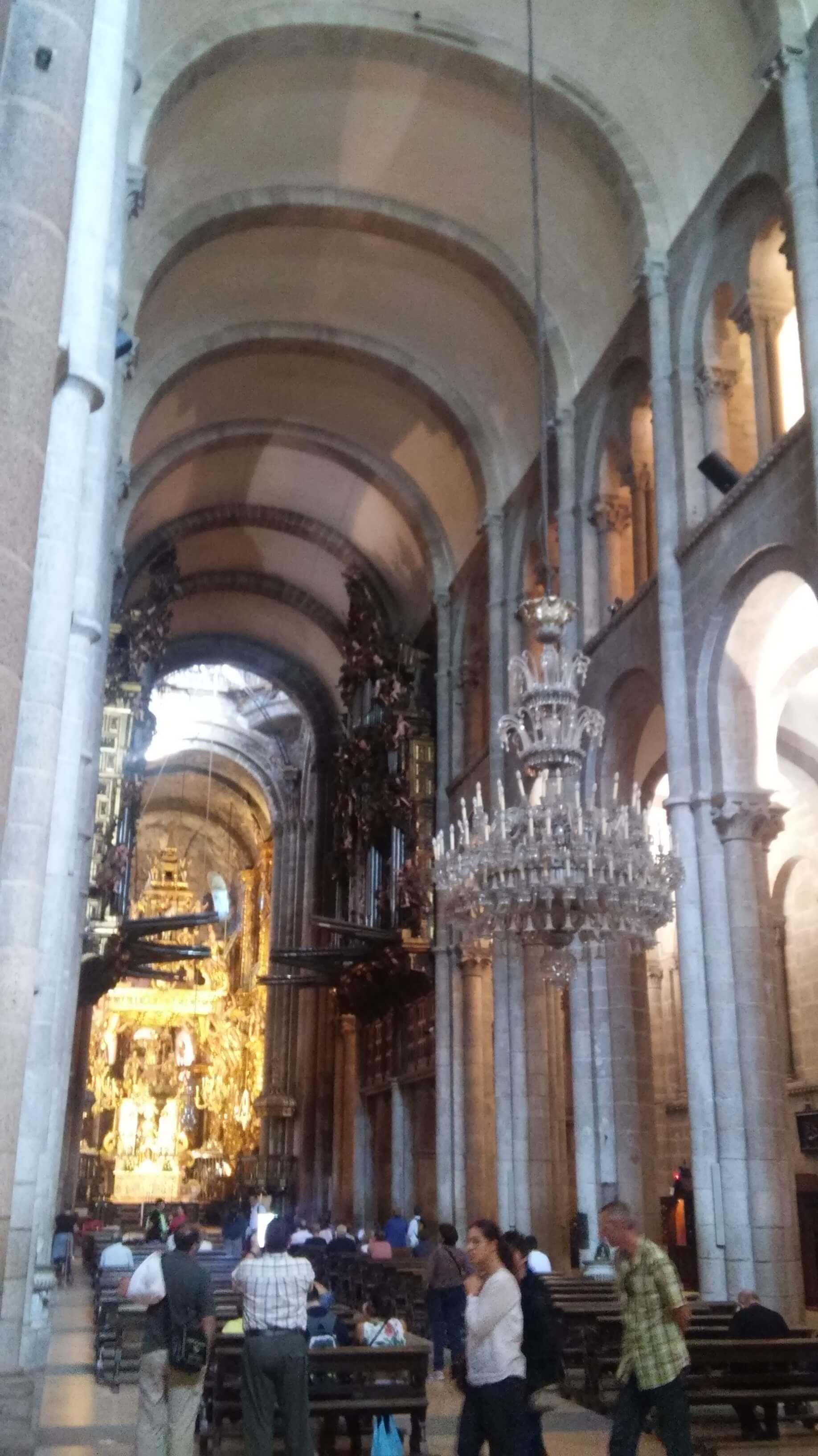 Catedral de Santiago interior