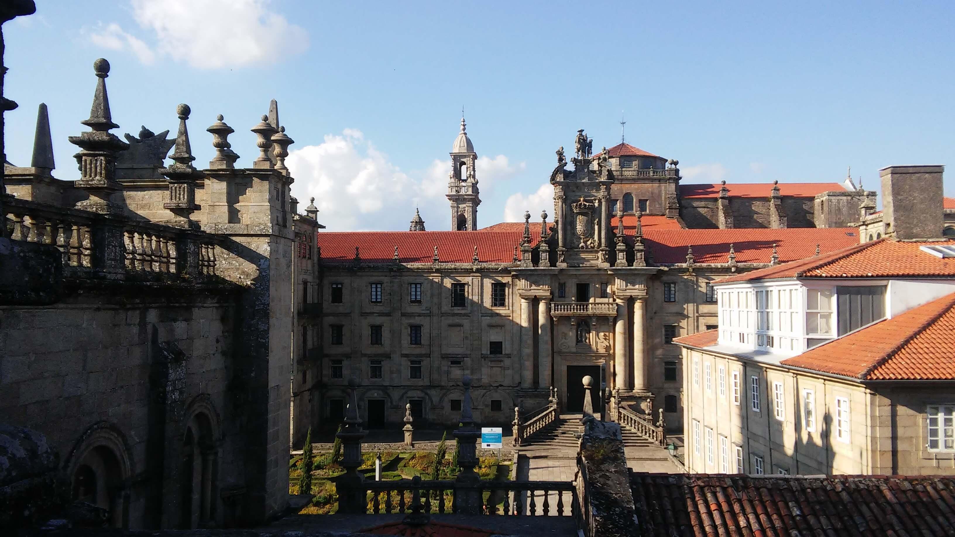 Cubiertas Catedral 4_Monasterio e Iglesia San Martiño Pinario