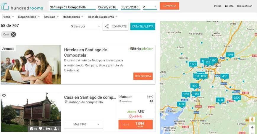 HundredRooms_apartamentos en Santiago de Compostela