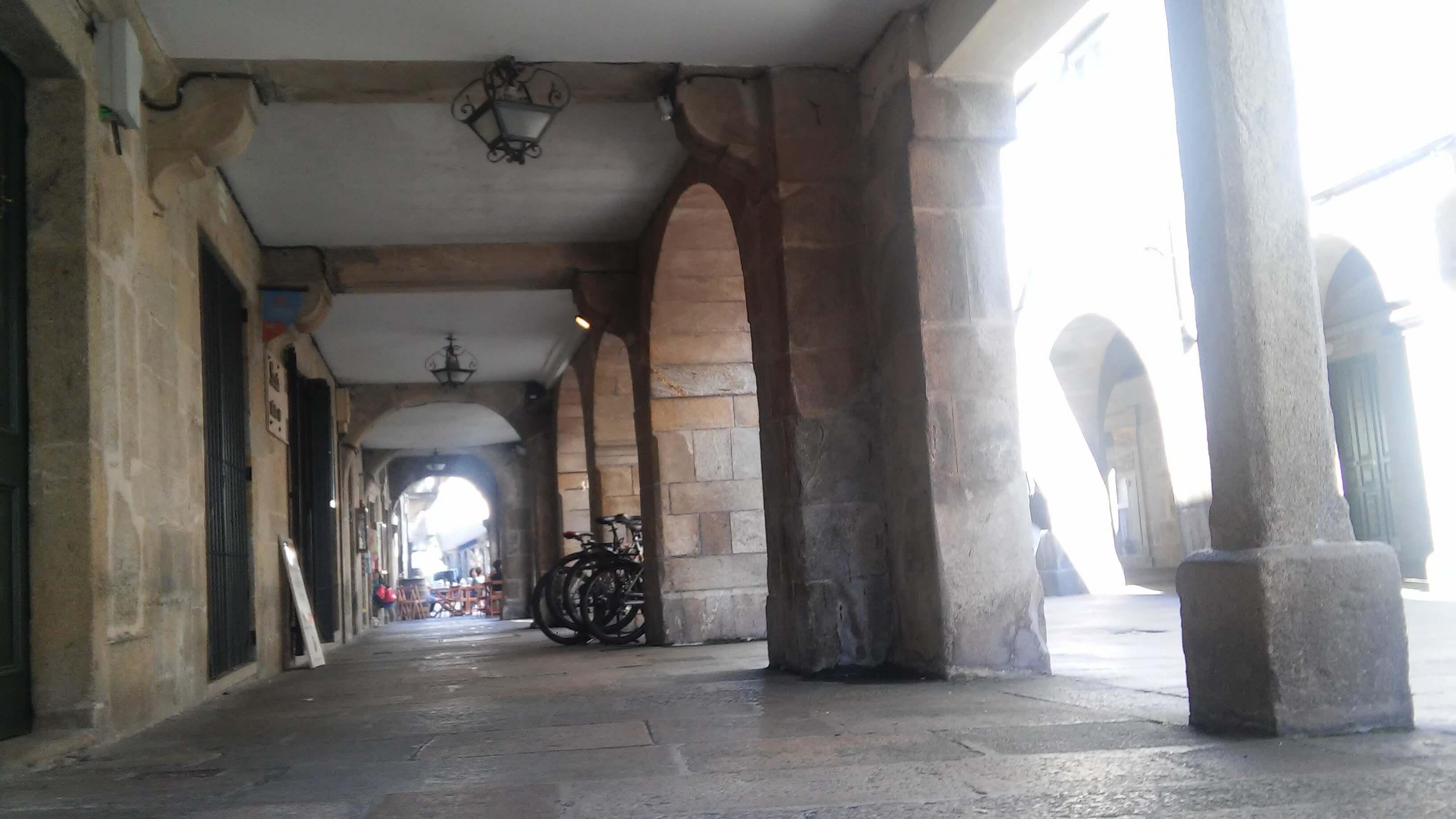portales de Santiago de Compostela