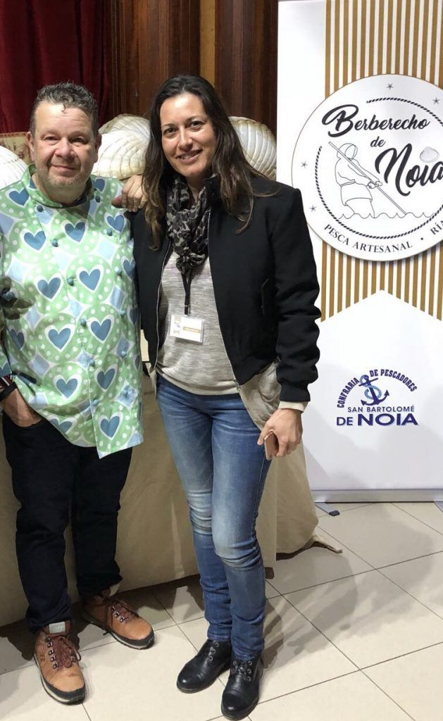 Con Alberto Chicote