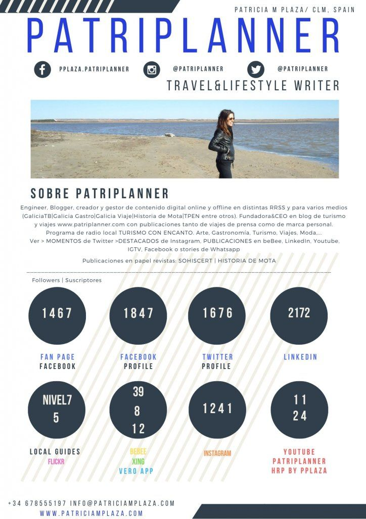 Pplaza   Para todo lo demás... PATRIPLANNER. Travel&Lifestyle Writer - Content manager - Content Creator - Engineer - Tourism - Travel